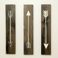 Rustic Flying Arrows Wall Decor - 3 Piece Set