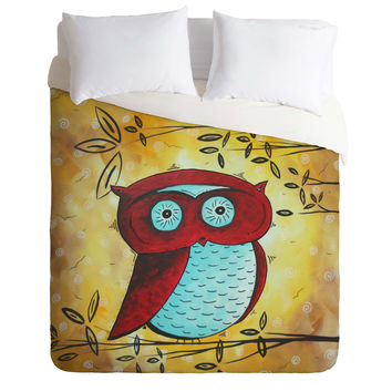 Madart Inc. Peekaboo Duvet Cover