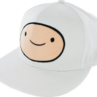 Bioworld Adventure Time Finn Face Snapback Adjustable Baseball Cap