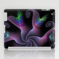NeonSeries003 iPad Case by fracts - fractal art