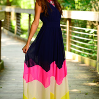 Block Party Maxi, Navy