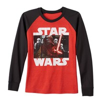 Star Wars: Episode VII The Force Awakens Battle Tee - Boys 8-20, Size: