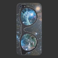 iPhone 5 Galaxy Sunglasses Case Cover For iPhone 5 from Zazzle.com