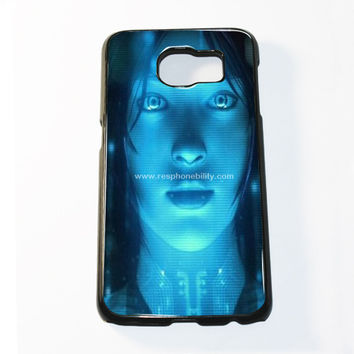 Cortana Oraz Samsung Galaxy S6 and S6 Edge Case