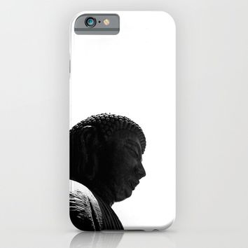 Buddha iPhone & iPod Case by Derek Delacroix