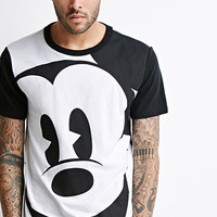 Longline Mickey Mouse Tee