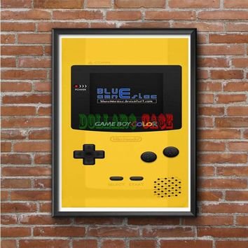 NINTENDO GAMEBOY COLOR DANDELION Photo Poster