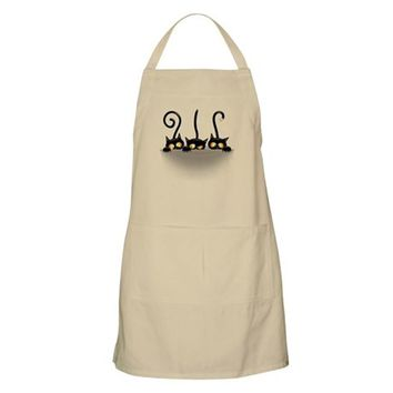 THREE NAUGHTY PLAYFUL KITTIES APRON