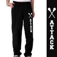 Lacrosse Attack Fleece Sweatpants | Lacrosse Sweatpants