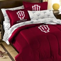 Indiana Hoosiers 5-piece Full Bed Set (Ind Team)