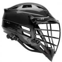 Cascade CPX-R Lacrosse helmet - All Black/Black Facemask | Lacrosse Unlimited