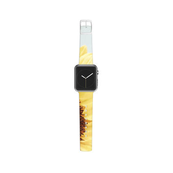 "Susannah Tucker ""Sunshine"" Sunflower Apple Watch Strap"