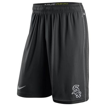 Chicago White Sox Nike Black Authentic Collection Dri-FIT Fly Shorts