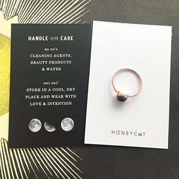 Rose Gold Mood Ring | Minimalist, Delicate Jewelry