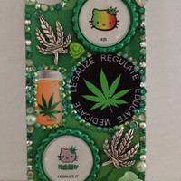 Legalize medical marijuana Phone Case