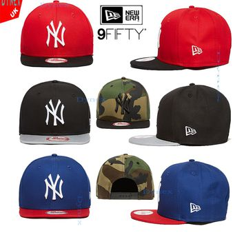 NEW ERA 9FIFTY MLB NY CAP New York Yankees Baseball Cap SNAPBACK 2 TONE STYLE