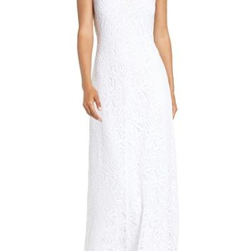 Lilly Pulitzer® 'Aster' Lace Maxi Dress | Nordstrom