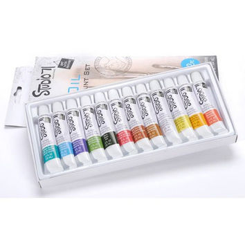 Studio 71 Oil Paint Set- 12 Pieces