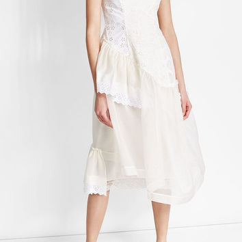 Silk Organza Dress - Simone Rocha | WOMEN | US STYLEBOP.COM