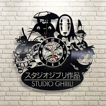 Spirited Away Studio Ghibli Anime Wall Clock