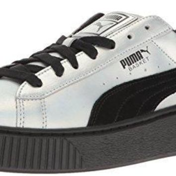 Puma Women's Basket Platform Explosivewns Fashion Sneaker