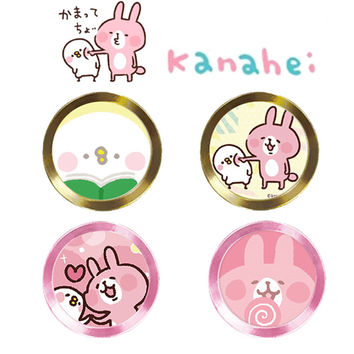 Phone Home Button Round Kanahei cute Sticker for iPhone 6 6s 7 plus fingerprint identification for iPad 2 3 air Touch Key paster