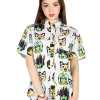 SUGOI BUTTON UP