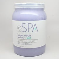 BCL Spa Sugar Scrub Lavender + Mint 64oz