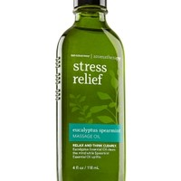 Massage Oil Stress Relief - Eucalyptus Spearmint