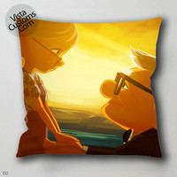 up carl and ellie pillow case, cover ( 1 or 2 Side Print With Size 16, 18, 20, 26, 30, 36 inch )