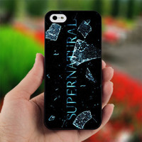 Supernatural Logo Custom - PC048 - Print on Hard Cover - For iPhone 4 / 4S Case - iPhone 5 Case - Black, White, and Clear
