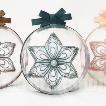 3 christmas decorations, holiday items, christmas ornaments set, christmas tree baubles, 3d ornaments, xmas ornaments, winter decorations