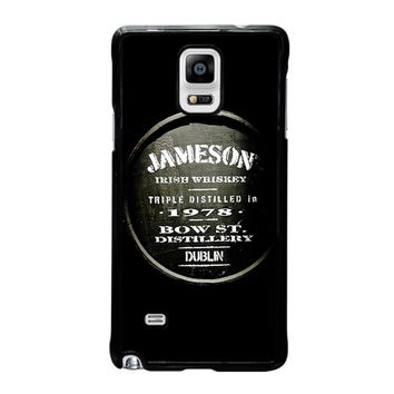 JAMESON WHISKEY Samsung Galaxy Note 4 Case Cover
