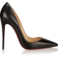 Christian Louboutin - So Kate 120 leather pumps