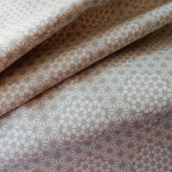 Parson Gray Curious Nature Starcomb Silver Cotton Quilting Fashion Fabric Freespirit per Half Yard