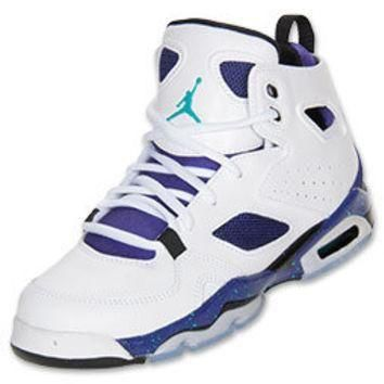 Boys' Grade School Jordan Flight Club 91 Basketball Shoes