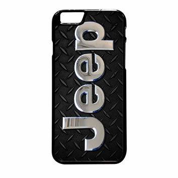 Jeep Personalized iPhone 6 Plus Case
