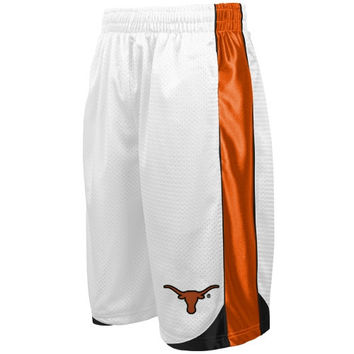 Texas Longhorns Vector Mesh Shorts – White