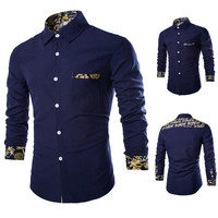 Designer Print Slim Fit Shirt