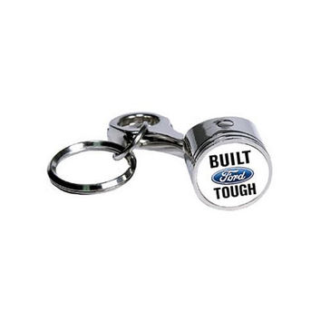 Ford Built Tough Piston Keychain