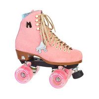 Moxi - Lolly Roller Skates - Strawberry - Pink suede