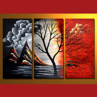 GMD3001  3-PCS Group Oil Painting