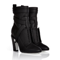 Fendi - Leather Ankle Boots