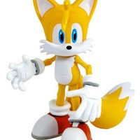 Sonic the Hedgehog 5 Inch Super Posers Action Figure Tails Over 25 Points of Articulation!
