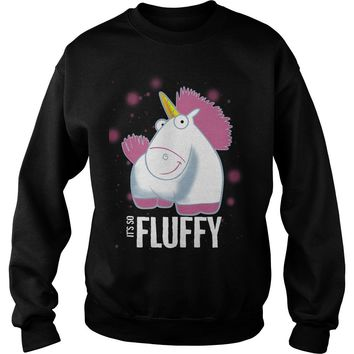 Despicable Me It's So Fluffy Pink shirt Sweat Shirt