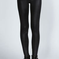 Bethan Highwaist Wet Look Legging