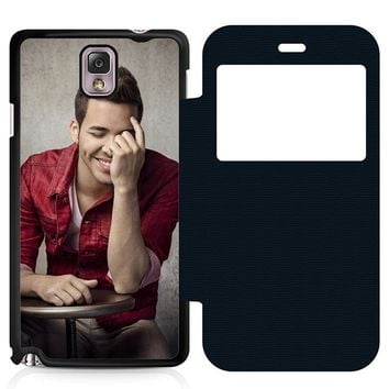 Prince Royce Cool Leather Wallet Flip Case Samsung Galaxy Note 3
