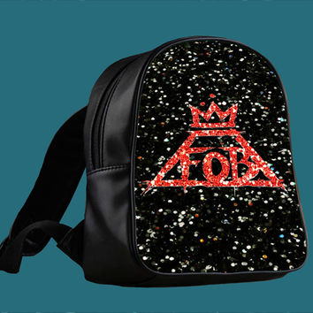 Fall out Boy Sparkle for Backpack / Custom Bag / School Bag / Children Bag / Custom School Bag *