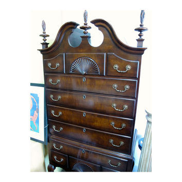 Stunning Vintage Kindel Highboy Dresser -SALE!!-