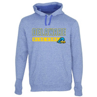 Delaware Fightin' Blue Hens Centurion Marled Pullover Hoodie - Royal Blue